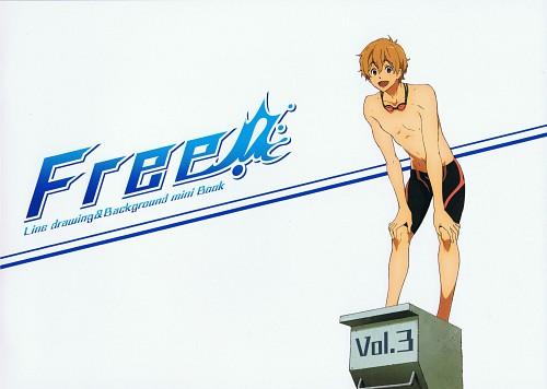Kyoto Animation, Free!, Nagisa Hazuki, DVD Cover