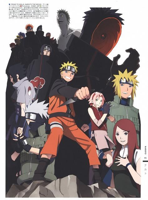 Naruto, The Art of Tetsuya Nishio: Full Spectrum, Zetsu , Kakashi Hatake, Konan