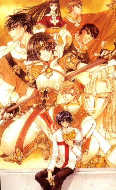 CLAMP, Madhouse, X, Yuuto Kigai, Arashi Kishuu
