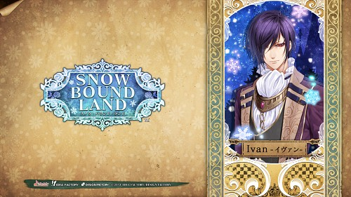 Aya Murasaki, Idea Factory, Snow Bound Land, Ivan (Snow Bound Land), Official Wallpaper