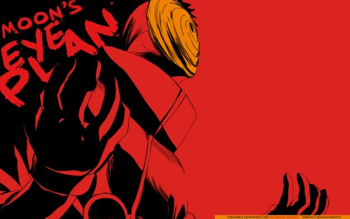 Masashi Kishimoto, Studio Pierrot, Naruto, Obito Uchiha Wallpaper