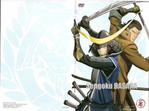 Capcom, Sengoku Basara, Kojuro Katakura, Masamune Date, DVD Cover