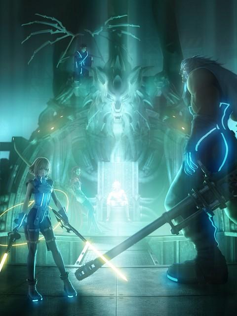 Square Enix, Final Fantasy VII: Dirge of Cerberus, Nero (Final Fantasy VII), Azul, Shelke Rui