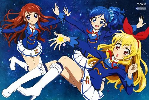 Masumi Sakai, Sunrise (Studio), Aikatsu!, Aoi Kiriya (Aikatsu!), Ran Shibuki