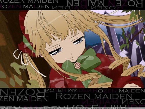 Peach-Pit, Studio Nomad, Rozen Maiden, Shinku Wallpaper