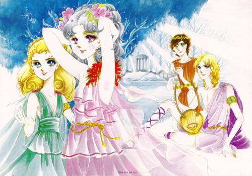 Suzue Miuchi, TMS Entertainment, Glass Mask, Yuu Sakurakoji, Ayumi Himekawa