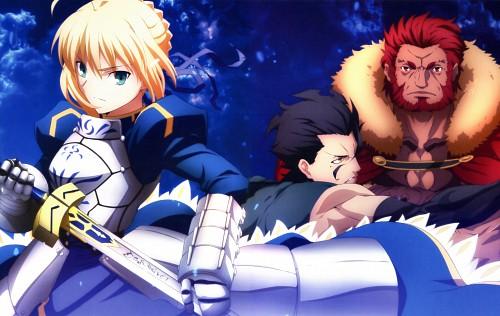 Ufotable, TYPE-MOON, Fate/Zero, Fate/Zero Animation Visual Guide II, Rider (Fate/Zero)