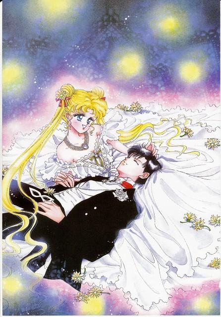 Naoko Takeuchi, Bishoujo Senshi Sailor Moon, BSSM Original Picture Collection Vol. I, Usagi Tsukino, Mamoru Chiba