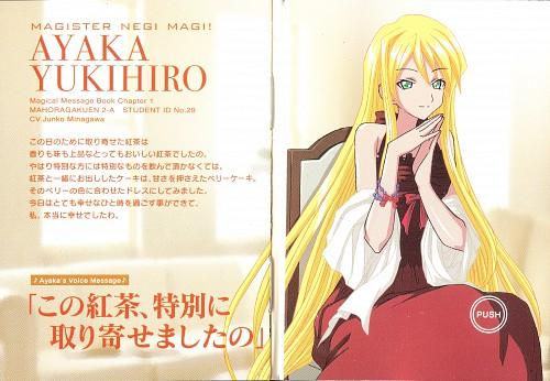 Ken Akamatsu, Xebec, Mahou Sensei Negima!, Ayaka Yukihiro