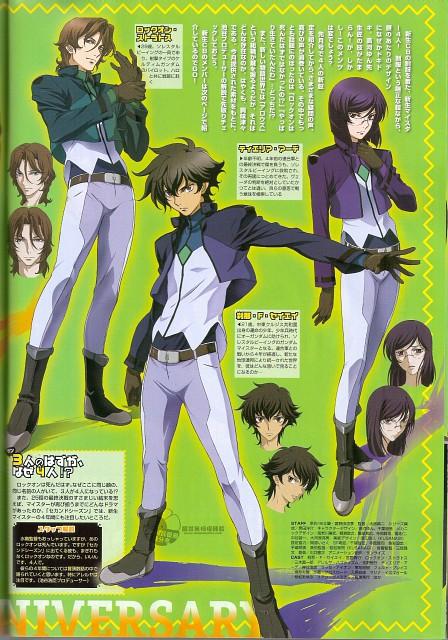 Sunrise (Studio), Mobile Suit Gundam 00, Lockon Stratos, Setsuna F. Seiei, Tieria Erde