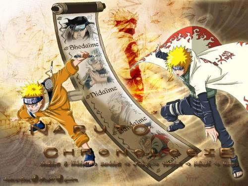 Masashi Kishimoto, Studio Pierrot, Naruto, Minato Namikaze, Naruto Uzumaki Wallpaper