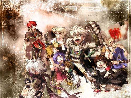 Ragnarok Online, Knight (Ragnarok Online), Assassin (Ragnarok Online), Priestess (Ragnarok Online), Wizard (Ragnarok Online) Wallpaper