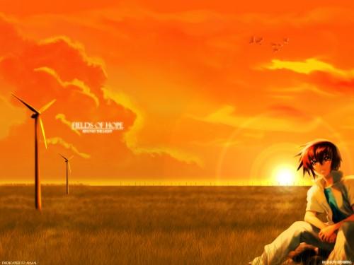 RGB, Hisashi Hirai, Sunrise (Studio), Mobile Suit Gundam SEED, Kira Yamato Wallpaper