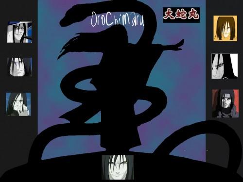 Masashi Kishimoto, Studio Pierrot, Naruto, Orochimaru Wallpaper