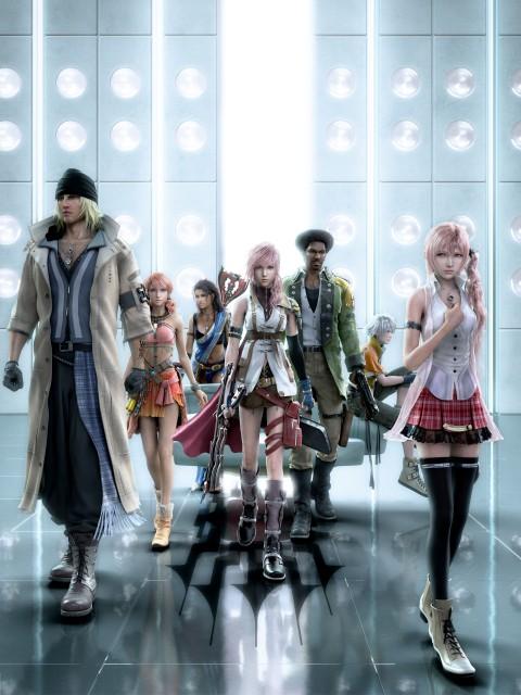 Square Enix, Final Fantasy XIII, Oerba Dia Vanille, Hope Estheim, Serah Farron
