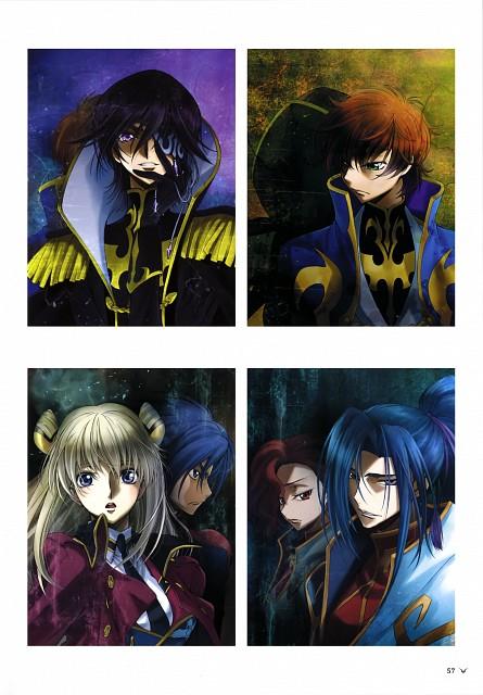RICCA, Takahiro Kimura, Sunrise (Studio), Akito the Exiled, Code Geass Akito the Exiled Illustrations