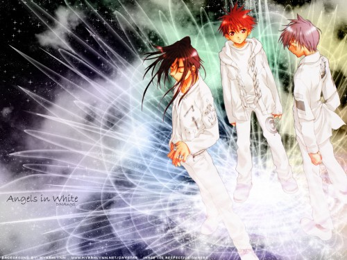 Yukiru Sugisaki, Xebec, D.N.Angel, Satoshi Hiwatari, Dark Mousy Wallpaper