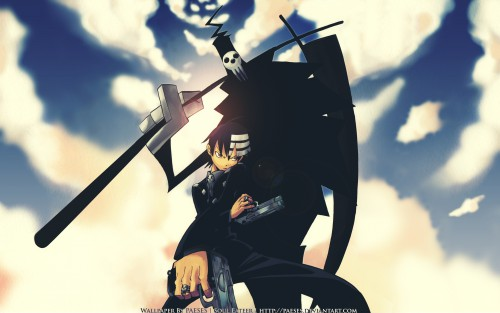BONES, Soul Eater, Shinigami-sama, Death The Kid Wallpaper