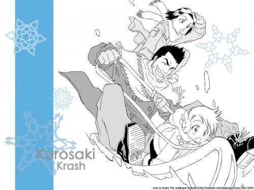Kubo Tite, Studio Pierrot, Bleach, Karin Kurosaki, Yuzu Kurosaki Wallpaper