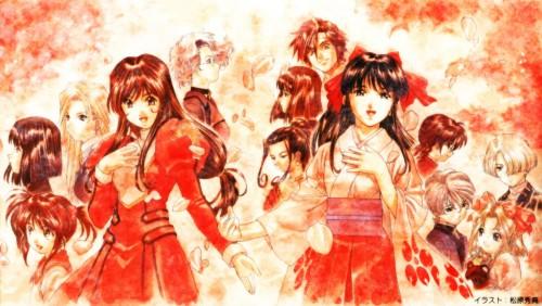 Kousuke Fujishima, Sega, Sakura Wars, Leni Milchstrasse, Maria Tachibana