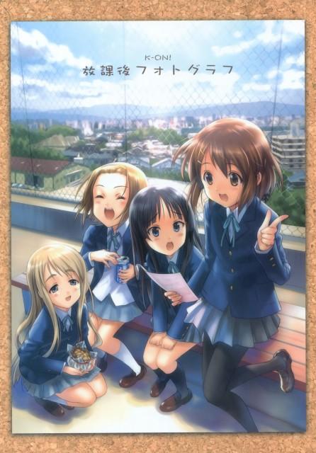 Goto-P, K-On!, Houkago Photo Graph, Tsumugi Kotobuki, Ritsu Tainaka
