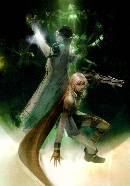 Square Enix, Final Fantasy XIII, Snow Villiers, Lightning (FF XIII)