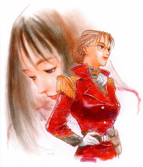 Haruhiko Mikimoto, Sunrise (Studio), Mobile Suit Gundam Wing, Lady Une