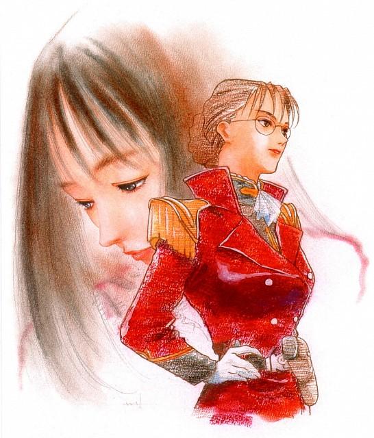 Haruhiko Mikimoto, Sunrise (Studio), Mobile Suit Gundam Wing, Lady Une
