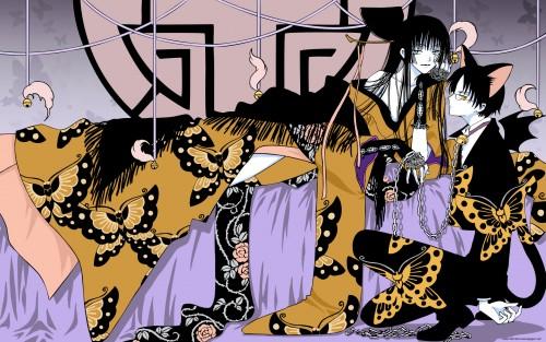 CLAMP, Production I.G, xxxHOLiC, Yuuko Ichihara, Kimihiro Watanuki Wallpaper