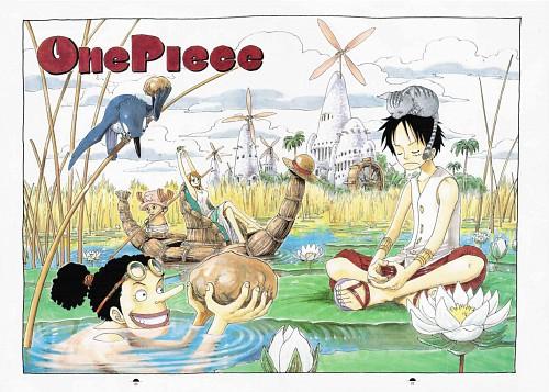 Eiichiro Oda, Toei Animation, One Piece, Color Walk 3 - Lion, Monkey D. Luffy