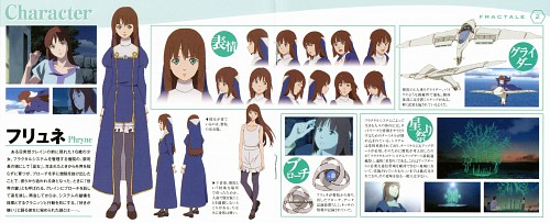 A-1 Pictures, Fractale, Phryne, Character Sheet
