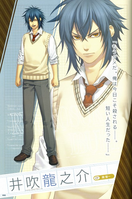 Yone Kazuki, Idea Factory, Studio DEEN, Hakuouki Sweet School Life Official Fan Book, Hakuouki Sweet School Life