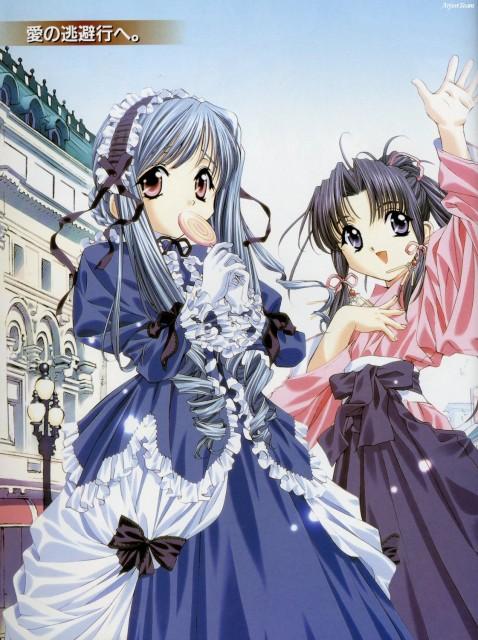 Naoto Tenhiro, Sister Princess, Aria (Sister Princess), Haruka (Sister Princess)