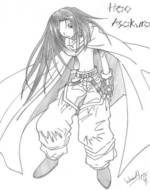 Hiroyuki Takei, Shaman King, Hao Asakura, Member Art