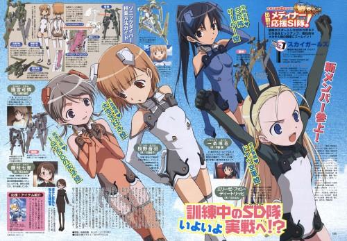 J.C. Staff, Sky Girls, Elise Von Dietrich, Karen Sonomiya, Otoha Sakurano