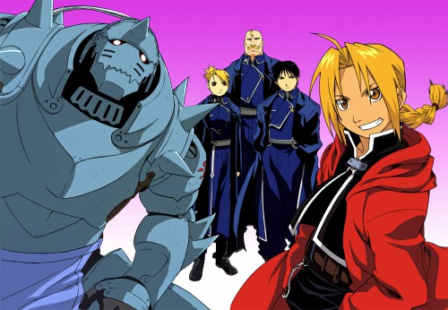 Hiromu Arakawa, BONES, Fullmetal Alchemist, Alex Louis Armstrong, Edward Elric
