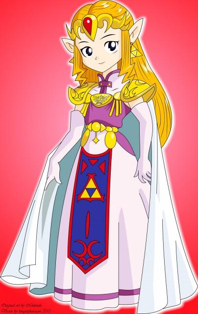 Nintendo, The Legend of Zelda, Zelda, Vector Art