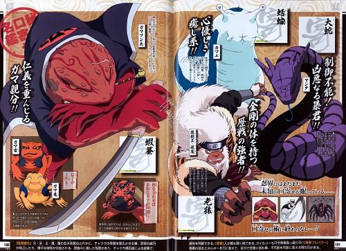 Studio Pierrot, Naruto, Naruto Juunen Hyakunin, Gamabunta