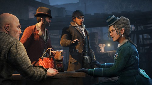 Ubisoft, Assassin's Creed Syndicate, Jacob Frye, Mary Anne Disraeli, Game CG