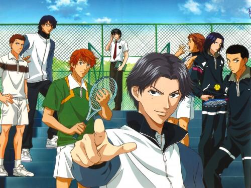 Takeshi Konomi, J.C. Staff, Prince of Tennis, Jirou Akutagawa, Hajime Mizuki