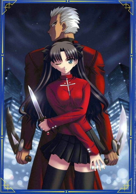 Fate/stay night, Archer (Fate/stay night), Rin Tohsaka, Doujinshi