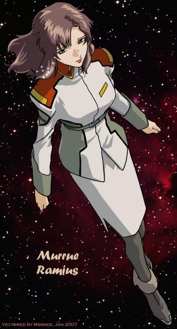 Sunrise (Studio), Mobile Suit Gundam SEED, Murrue Ramius, Vector Art