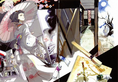 Akira Mutsuki, Bungaku Shoujo, Bungaku Shoujo Fantasy Art Book