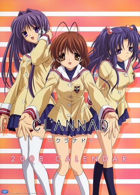 Kyoto Animation, Clannad, Nagisa Furukawa, Kotomi Ichinose, Kyou Fujibayashi
