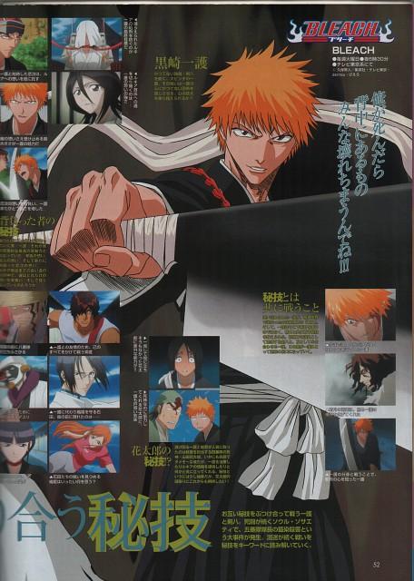 Studio Pierrot, Bleach, Ganju Shiba, Mayuri Kurotsuchi, Orihime Inoue