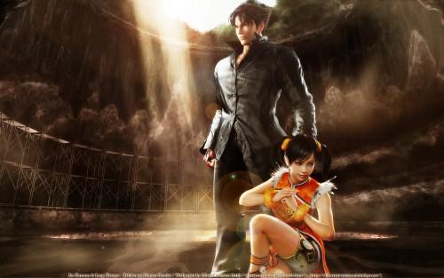 Namco, Tekken, Ling Xiaoyu, Jin Kazama Wallpaper