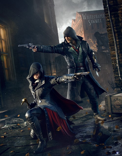 Ubisoft, Assassin's Creed Syndicate, Evie Frye, Jacob Frye, Official Digital Art