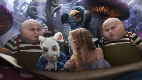 Disney, Alice In Wonderland (2010 Film), White Rabbit, Tweedles, Alice