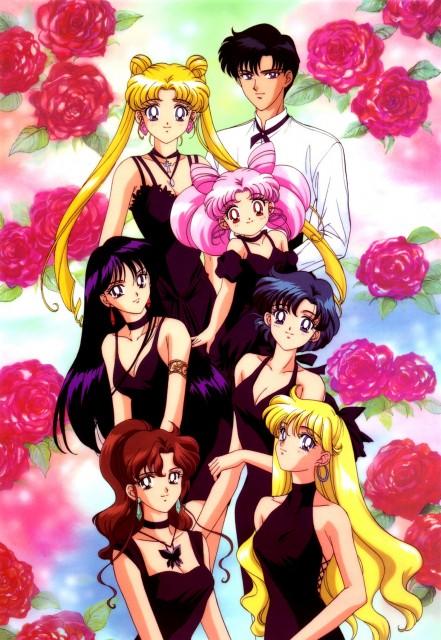 Toei Animation, Bishoujo Senshi Sailor Moon, Minako Aino, Usagi Tsukino, Chibi Usa