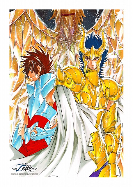 Shiori Teshirogi, TMS Entertainment, Saint Seiya: The Lost Canvas, Pegasus Tenma, Capricorn El Cid